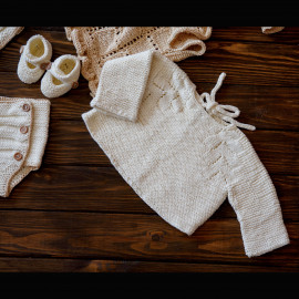 Full-Inclusive Hand Knitted Gift Set New Parents