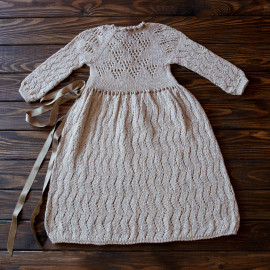 Knitted Baby Girl Clothes 12-18 months 80-86 cm Birth Outfit