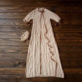Vintage Boys` Robe Handmade Maxi Dress