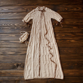 Vintage Boys` Robe Handmade Maxi Dress