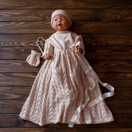 Knit Baby Girl Dress 3-6 months 57-68cm 1.87'-2.23' Blessing