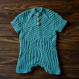 Raglan Bodysuit Baby Knit Fashion