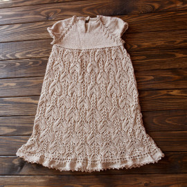 Seamless Baby Dress Baptism Box 12-14 months