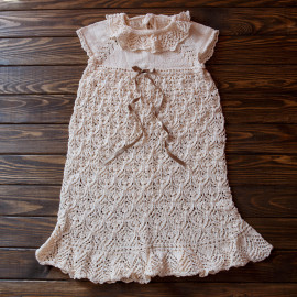 Seamless Baby Dress Special Occasion Dress 12-18m