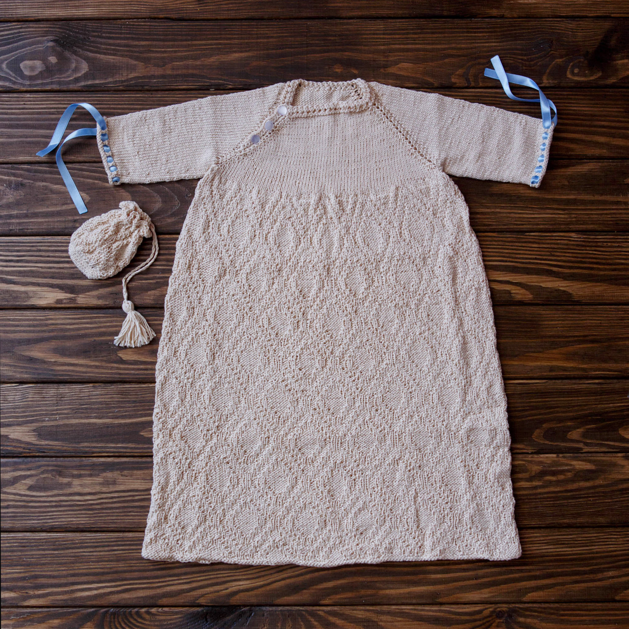 Baby Knit Dress Naming Ceremony Seamless