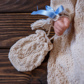 Baby Knit Dress Naming Ceremony Seamless