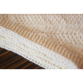 Cream Winter Scarf Knit Infinity Scarf