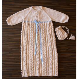 Seamless Baby Dress Baptism Box Boy Dress