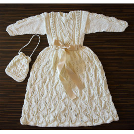 Soft Knit Boho Baby Girl Dress 3-5 months 57-62cm