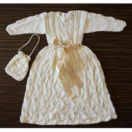 Soft Knit Boho Baby Girl Dress 3-5 months 57-62cm