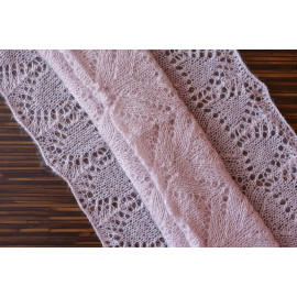 Women's Shawl Pinkish Gray Fall Clothes