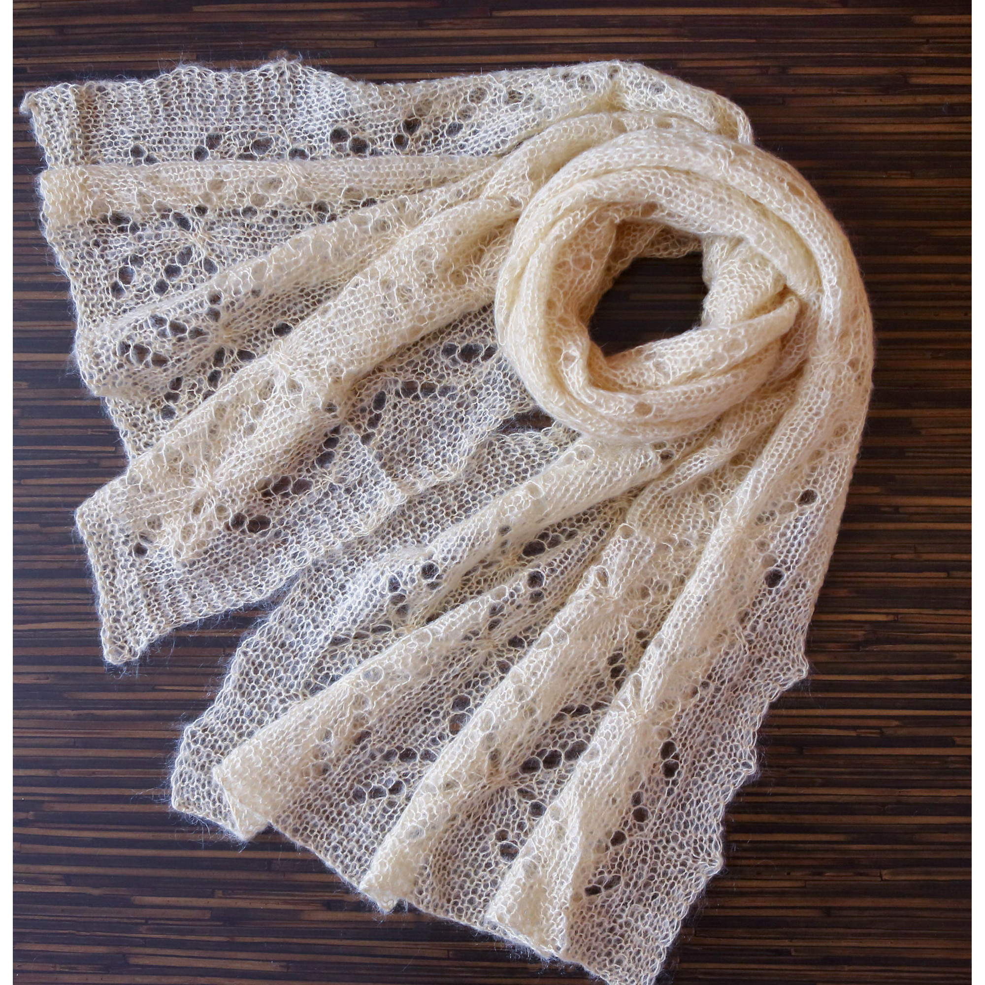 Lace Wool Shawl Gift From Grandkids