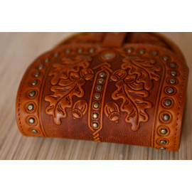 Shoulder Bag Authentic Leather Country Style