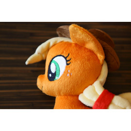 Hand-Sewn Plush Stuffed Toy Applejack Pony