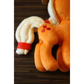 Hand-Sewn Plush Stuffed Toy Applejack Pony