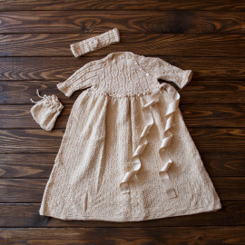 Baby Girl Dress Church Going Dress 3-4 months
