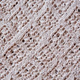 Special Occasion Dress Vintage Knit Dress Beige 10-12 months