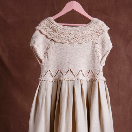 Authentic Clothes Historical Dress Linen Knit