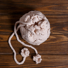 Authentic Clothes Historical Dress Linen Knit