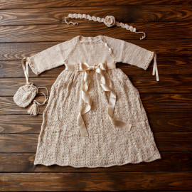 Toddler Raglan Dress Baby Girl Lace Dress 8-9 months 68 - 74 cm