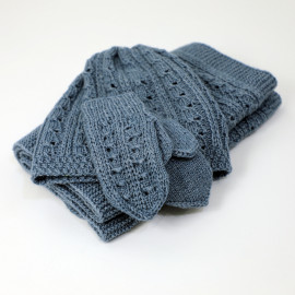 Fall Girl's Clothes Gray Knit Set 5-6