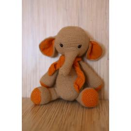 Elephant Crocheted Stuffed Zoo Animals