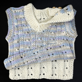0-3 Month Textured Soft Baby Boy's Vest