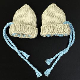 Knitted Baby Scratch Mittens Newborn