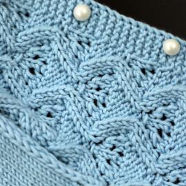 Blue Color Baby Girls' Сardigan 0-3 months
