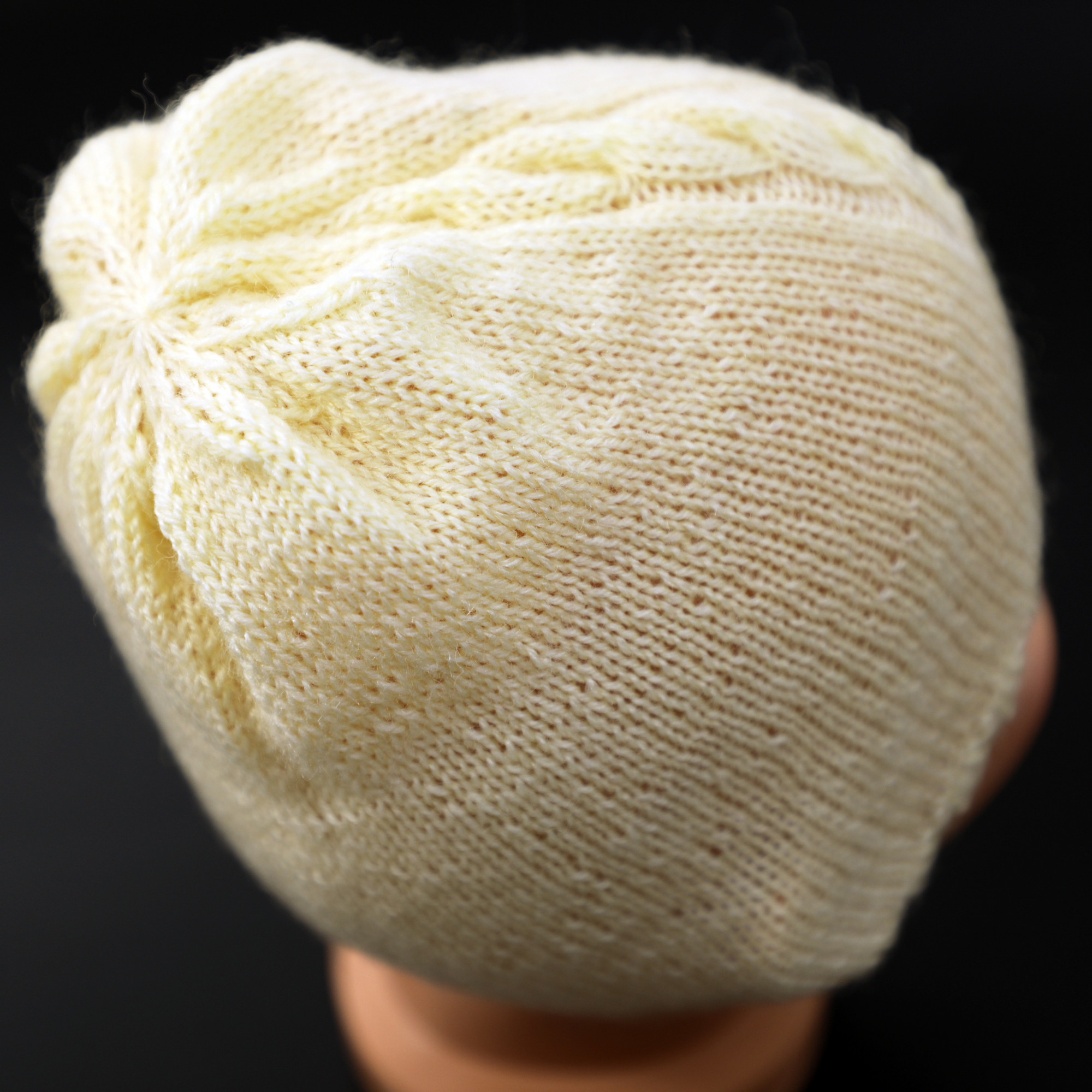 """Cabled Girls' Off-White Cap 24 - 36 months 19,29"""" - 20,08"""""""