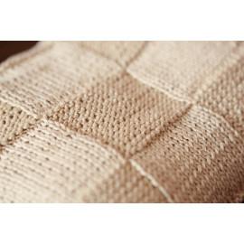 Newborn Handmade Geometric Pattern Pram Blanket