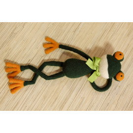 Ribbet Frog Stuff Animal, Cuddly Toy Kids