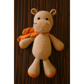 Stuff Animal Ready Family Album Hippo Crocheted