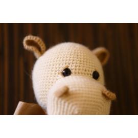 White Hippo - Fun Birth Day Gift