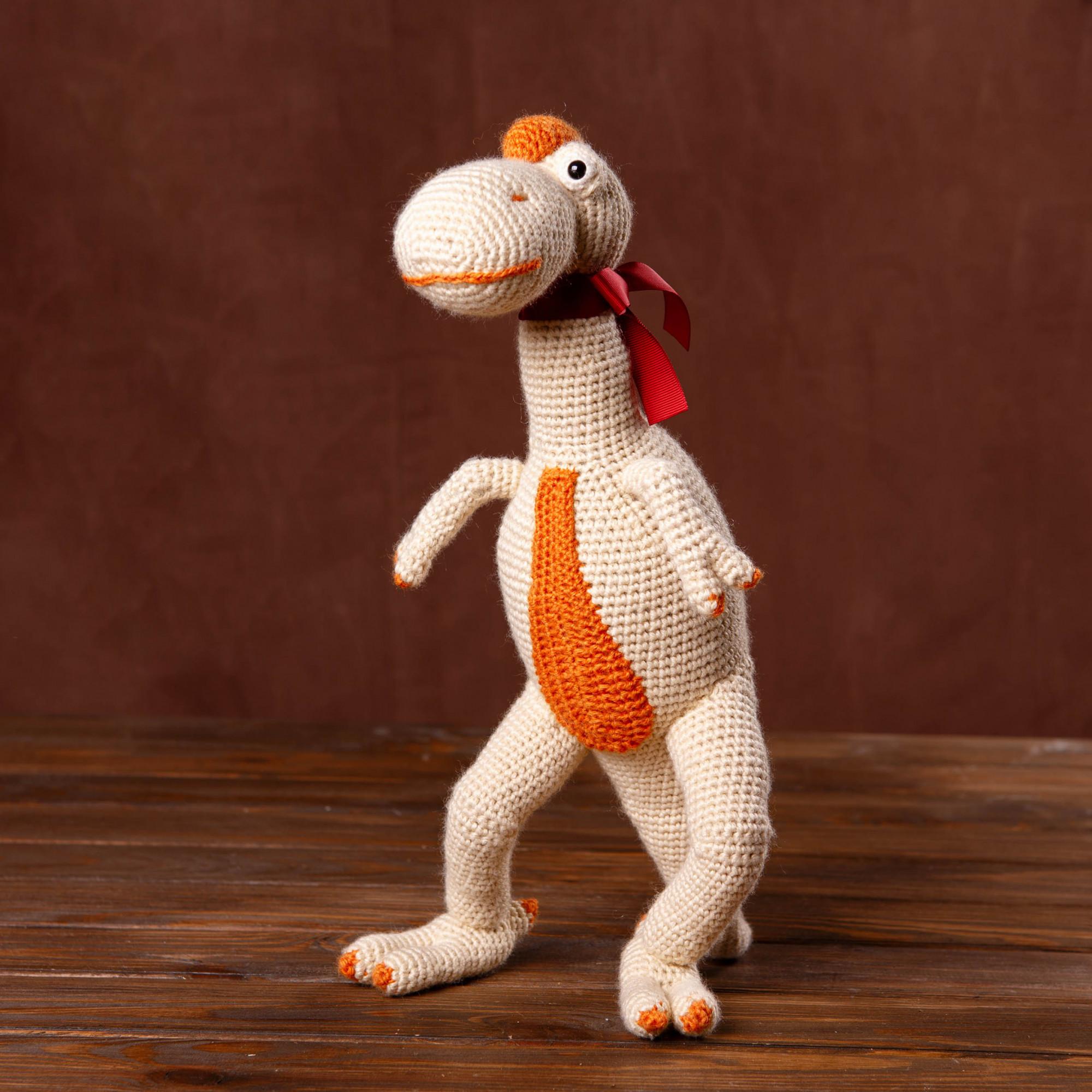 Jurassic Toy Crochet Dinosaur Sue