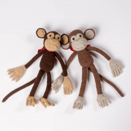 Browny Friendly Monkeys, Funny soft toys