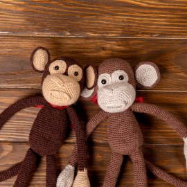 Browny Friendly Monkeys, Funny soft toys