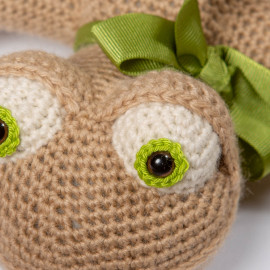 Crocheted Lizard Soft Toy Gift for Baby