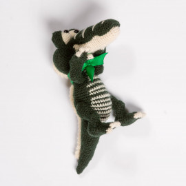 Green Aligator for Your Kid Crochet Soft Toy