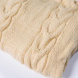 Swaddling blanket for newborns, hand knitted