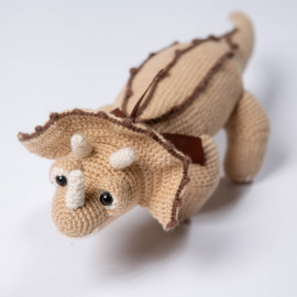 Triceratops from the planet Dino a wonderful gift for a child