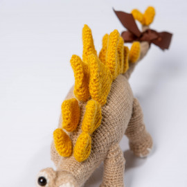 Dino for a child Crochet soft toy Explore the world playing