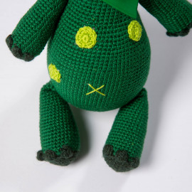 Dino is a great gift for baby Soft toy crochet