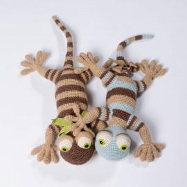 Toy - Lizard for the kid. A wonderful gift. Crochet lizard