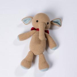 Elephant for the kid. Crochet soft toy Elephant