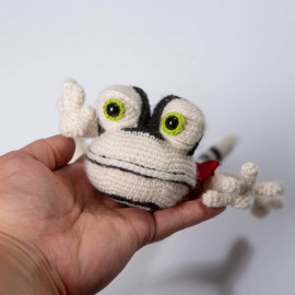 The lizard is a wonderful gift for a baby. Crochet Soft Lizard