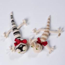 The lizard is a wonderful gift for a baby. Crochet Soft Lizard