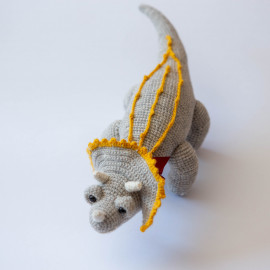 Soft toy Dinosaur Triceratops Soft Dino for kid