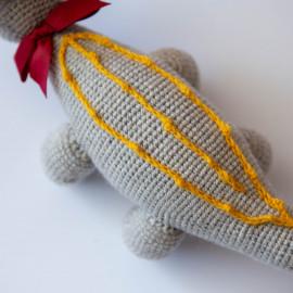 Soft toy Dinosaur Triceratops Soft Dino for kid