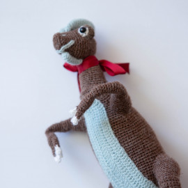 Dino for kids Dinosaur stuffed toy Dilophosaurus from Jurassic Park